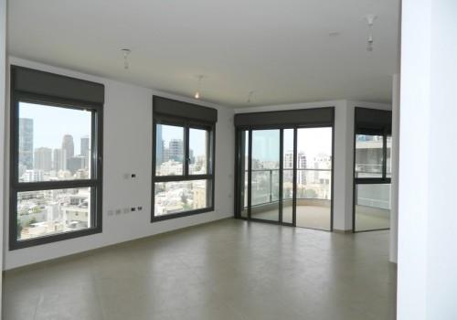 למכירה בגבעתיים בשכ' בורוכוב היוקרתית דירה חדשה (1/2)4 ח' עם נוף פתוח עד הים לכניסה מיידית